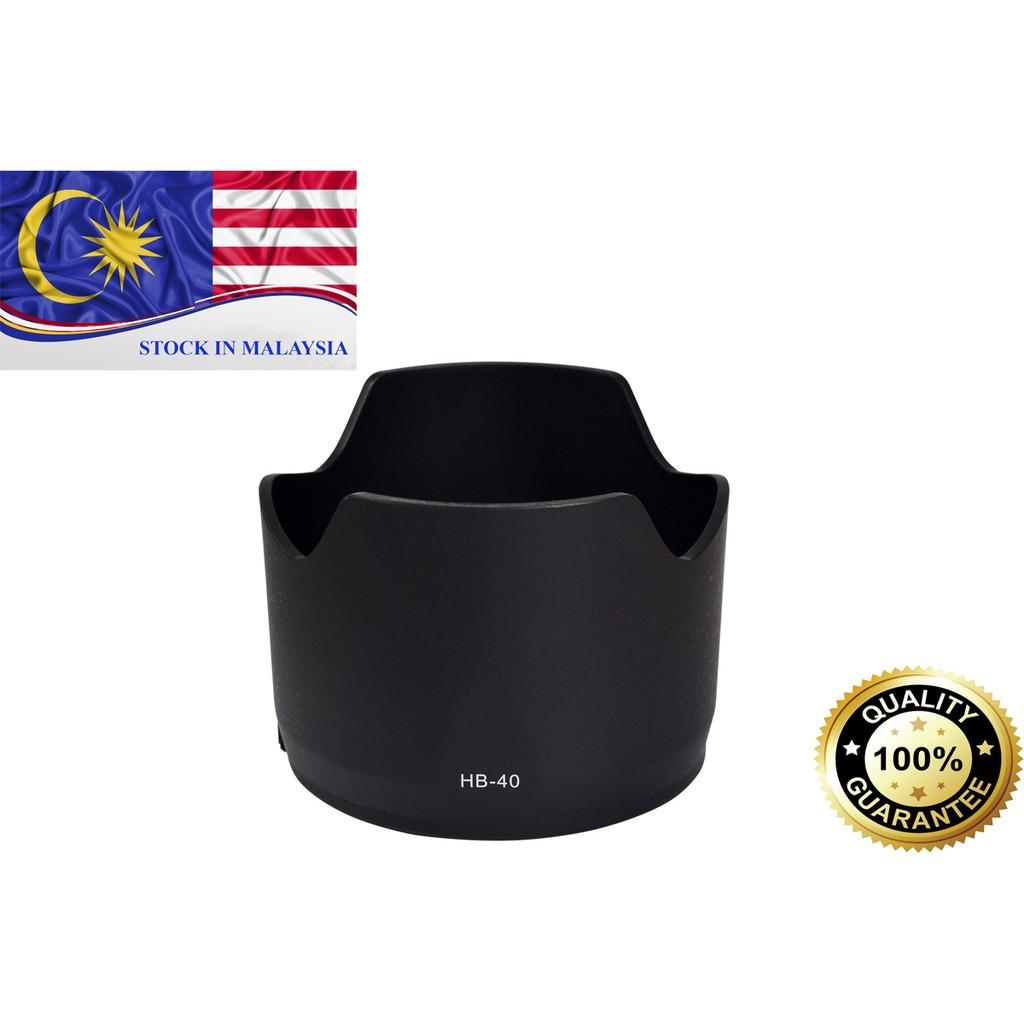 HB-40 HB40 Bayonet Lens Hood For Nikon AF-S 24-70mm f/2.8G ED (Ready Stock In Malaysia)