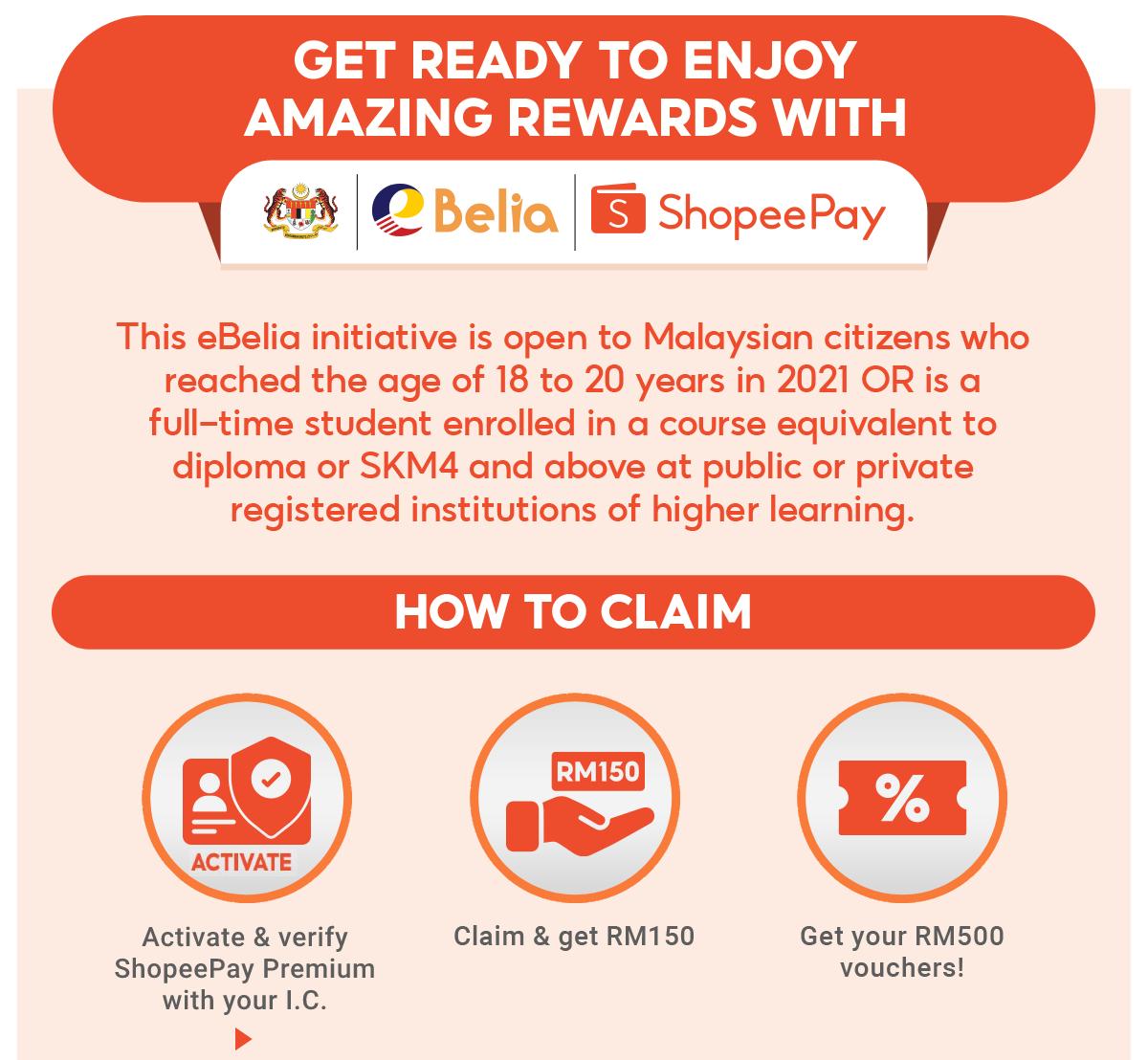 eBelia 20   Claim eBelia RM20 & Get Extra RM20 Vouchers ...