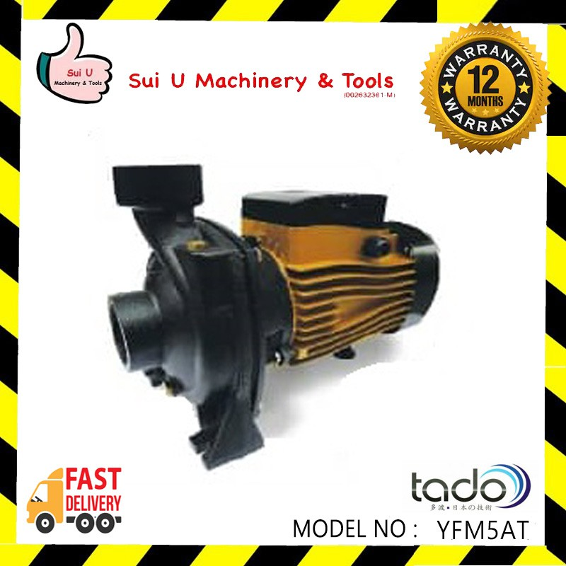 TADO YFM 5A Centrifugal Water Pump 1.5kw with Auto Switch