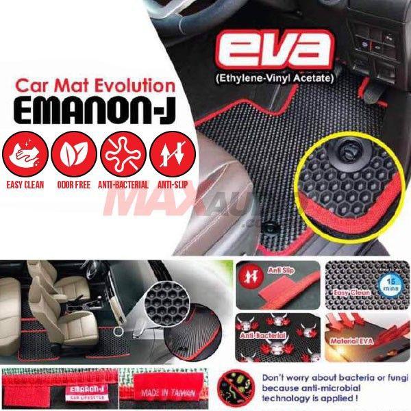 [FREE Gift] [CLEARANCE] MYVI 2005, MYVI LAGI BEST / ICON, VIOS 2007 EMANON-J (EVA) Custom Made Floor Carpet Mat