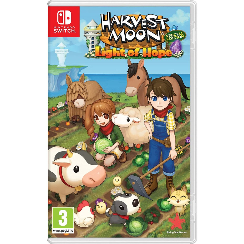 [ READY STOCK ] Harvest Moon Light of Hope Special Edition - Nintendo Switch (ENG)