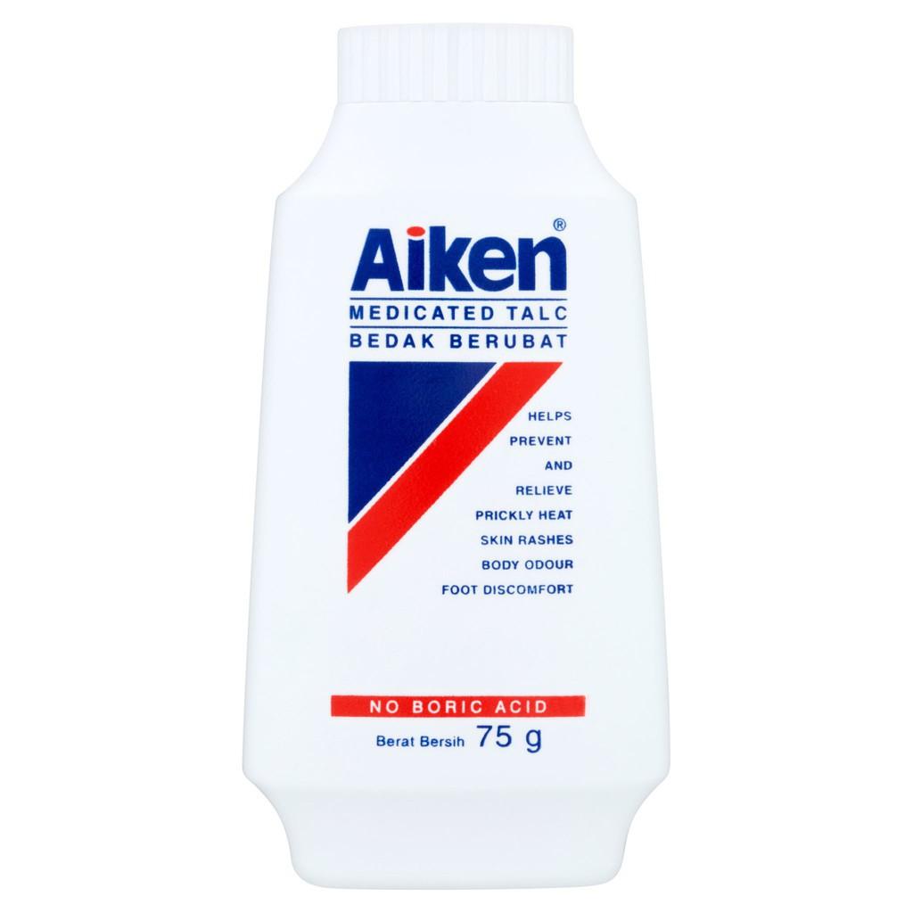 Aiken Medicated Talc (75g)