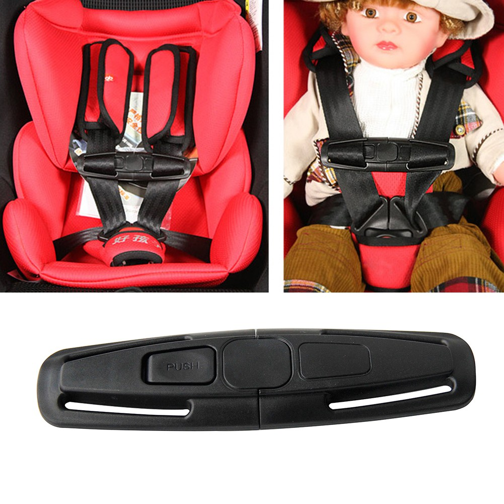 Baby Arriage Safety Strap Car Seat Belts Kids Safe Lock Buckle Chest Clip