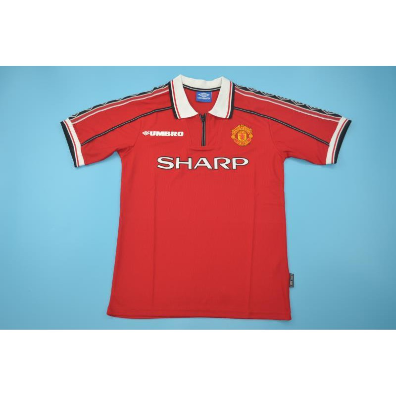 huge selection of addc0 c8c1e 98-99 Manchester united home retro jersey with Premier League patch