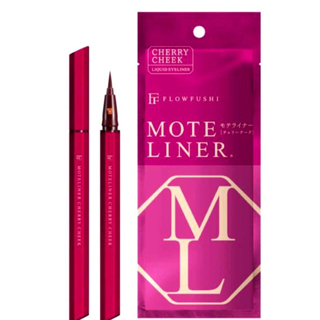 68aeb992514 PREORDER Japan Bestseller Cosme No1 Flow Fushi Mote Liner Eyeliner | Shopee  Malaysia