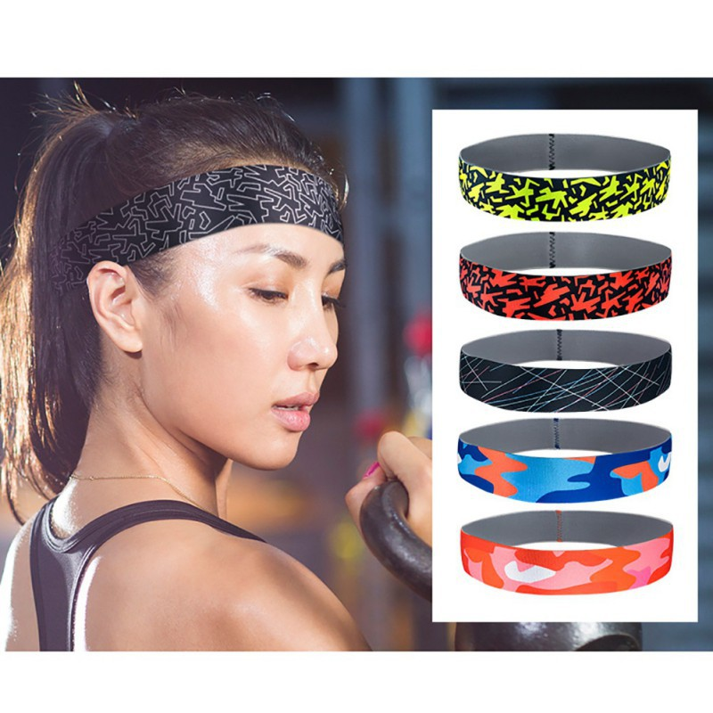 Cotton Stretch Headbands Yoga Elastic Headwrap Hair Band Wrap Sweatband Headband