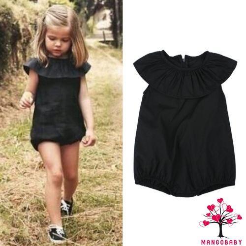 UK Summer Baby Girl Bodysuit Clothes Romper Jumpsuit Playsuit Sunsuit Kid Outfit