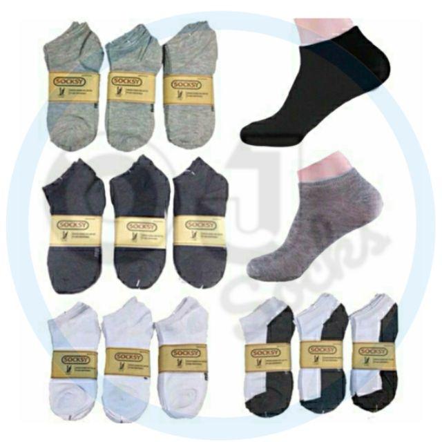 ถุงเท้าสีพื้น ข้อสั้น freesize socksy ราคานี้หาไม่ได้แล้ว ห้า