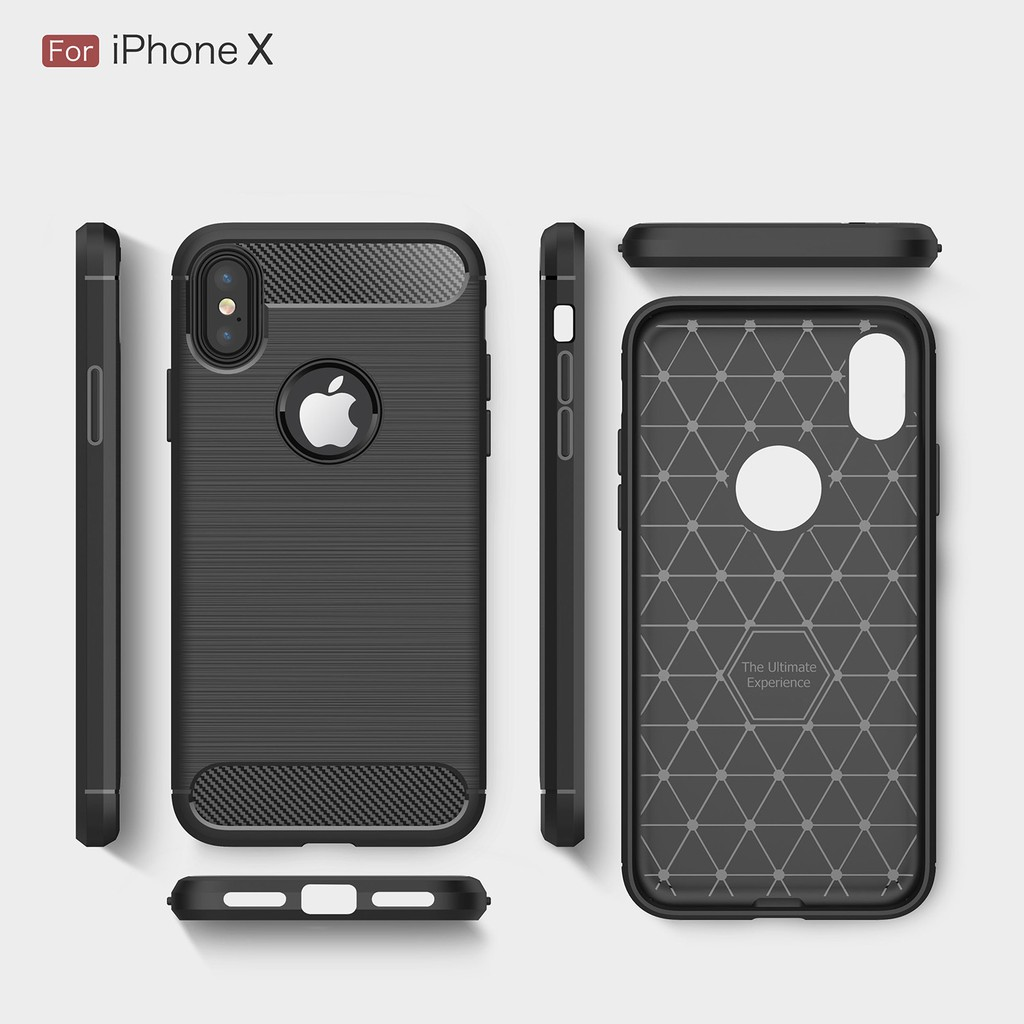 【Stocks presented steel film】sumsung case carbon fiber i6 7 i8 ix casing  iphone