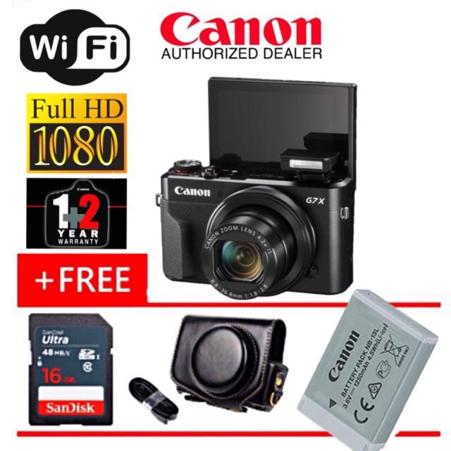 Canon Powershot G7x Mark Ii Original 3 Years Warranty
