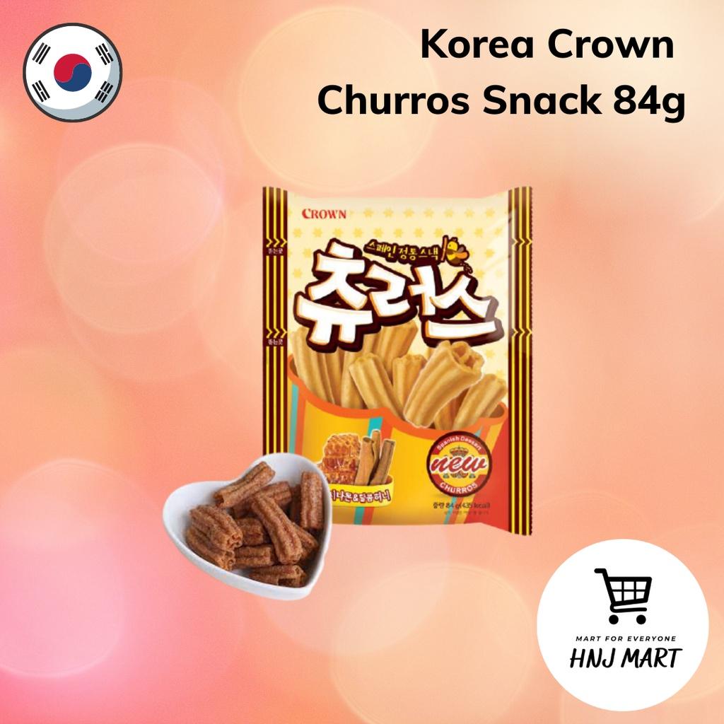 Korea Crown Churros Snack 84g
