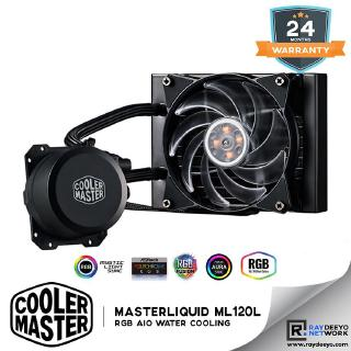 Cooler Master MasterLiquid ML120L RGB AIO Water Cooler [Lower noise Higher  Performance]