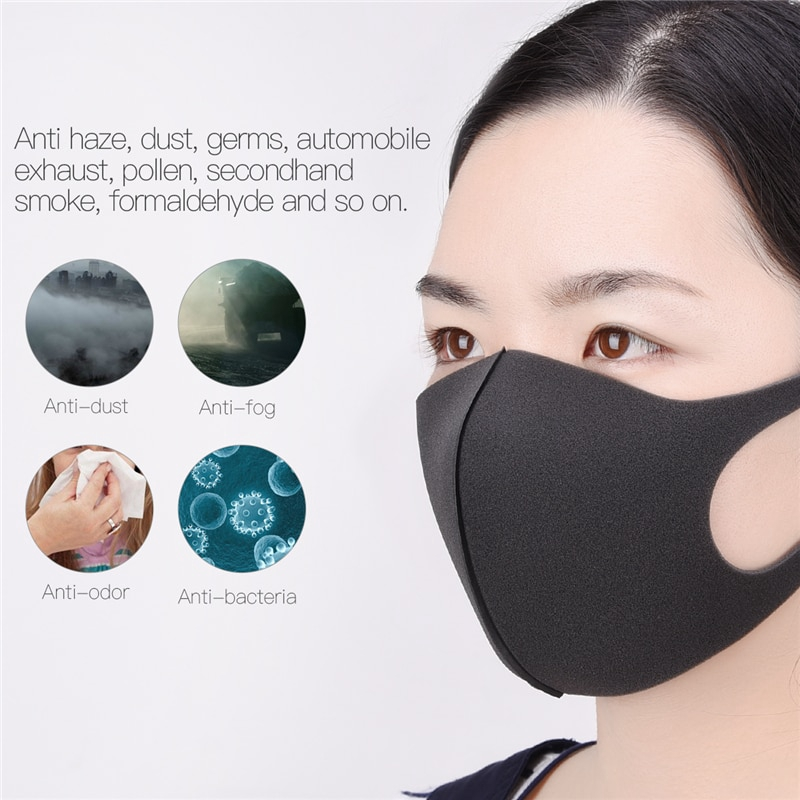 19aaddf1740e Unisex Mouth Masks Anti Dust Face Mouth Cover PM2.5 Mask Dustproof ...