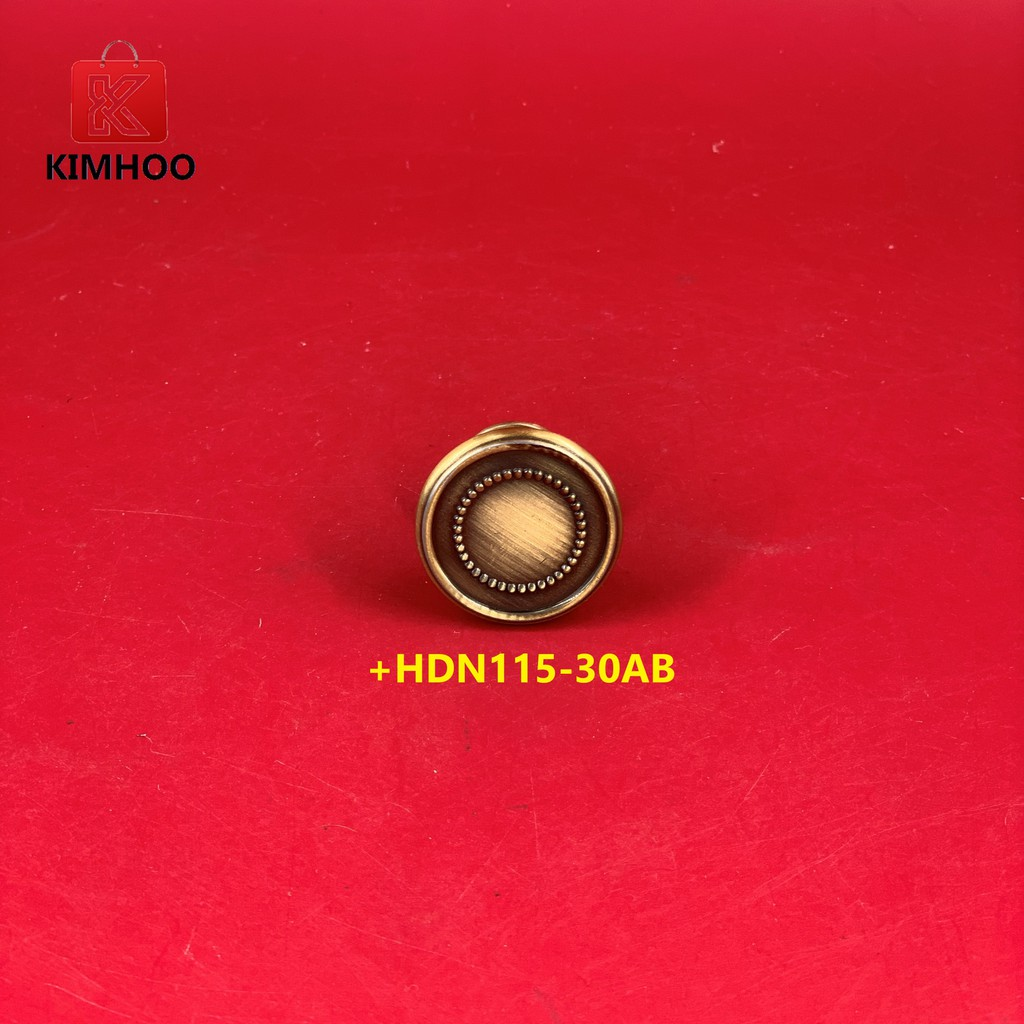 High Quality Vintage Furniture Cabinet Handle Knobs +HDN115-30AB