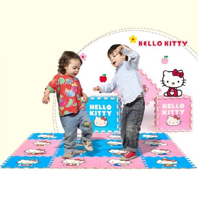 🆕💯👍9PCS Hello Kitty puzzle play Mat 👶👶