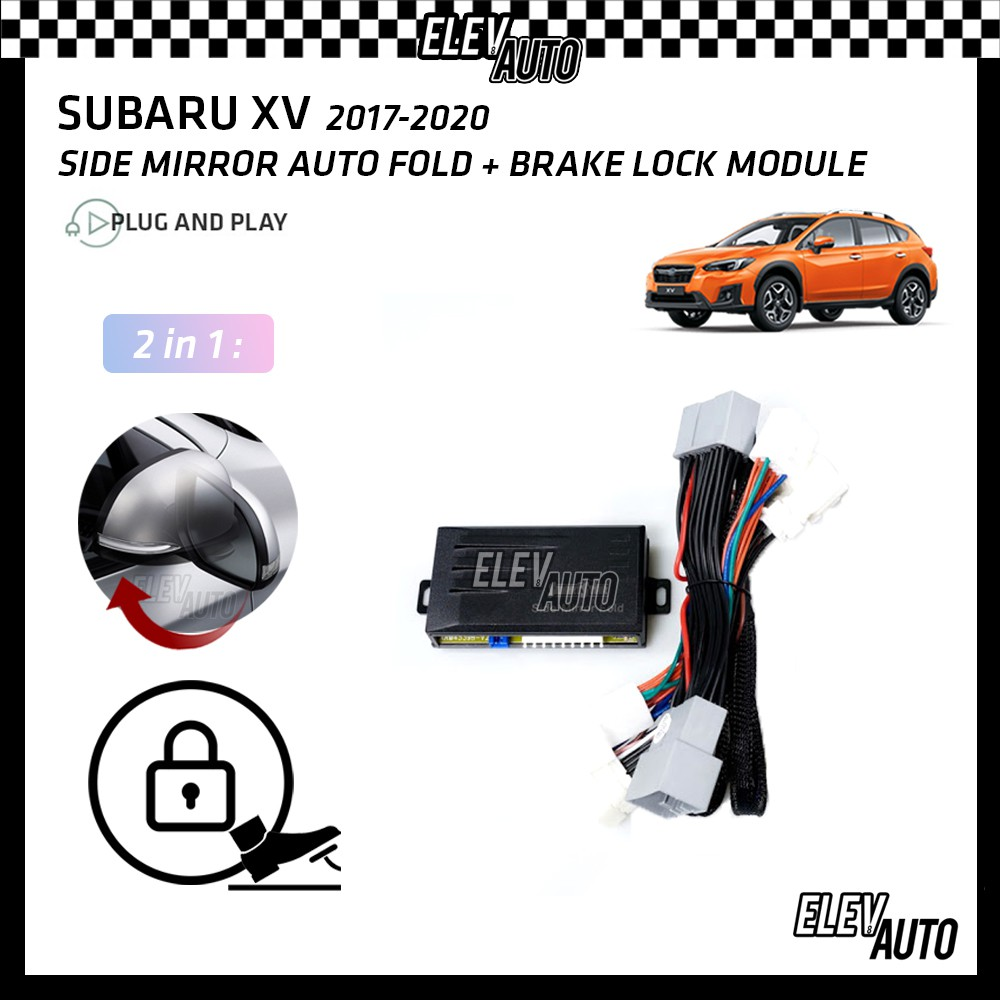 Subaru XV 2017-2021 Side Mirror Auto Fold & Brake Lock Module (2 in 1)
