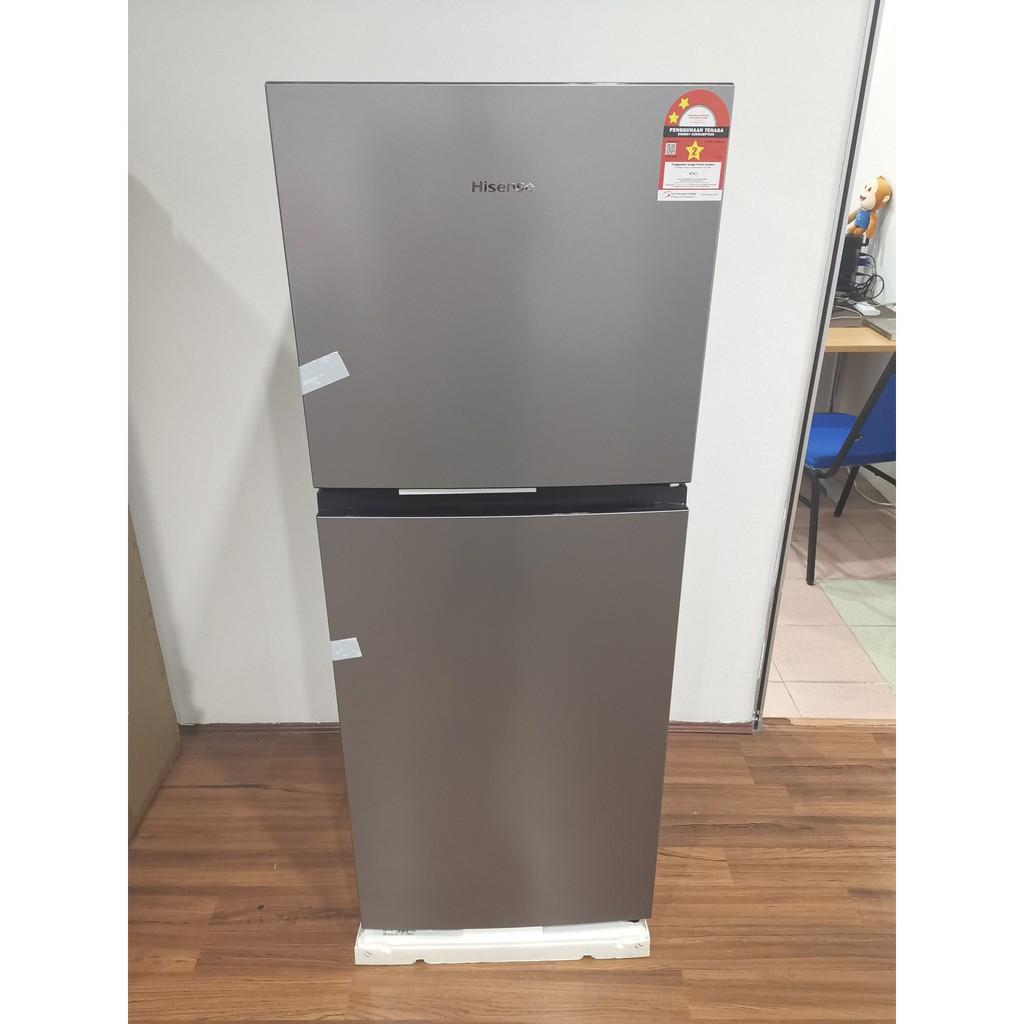 Hisense (240L) 2 Door Refrigerator Fridge Peti Sejuk RT256N4CGN