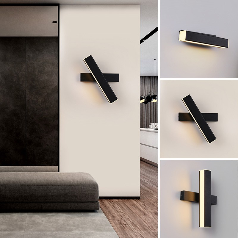 Wall Lights Sconces Led Wall Lamp Modern Wall Light Bedroom Living Room Indoor Lighting Adjustable Shopee Malaysia