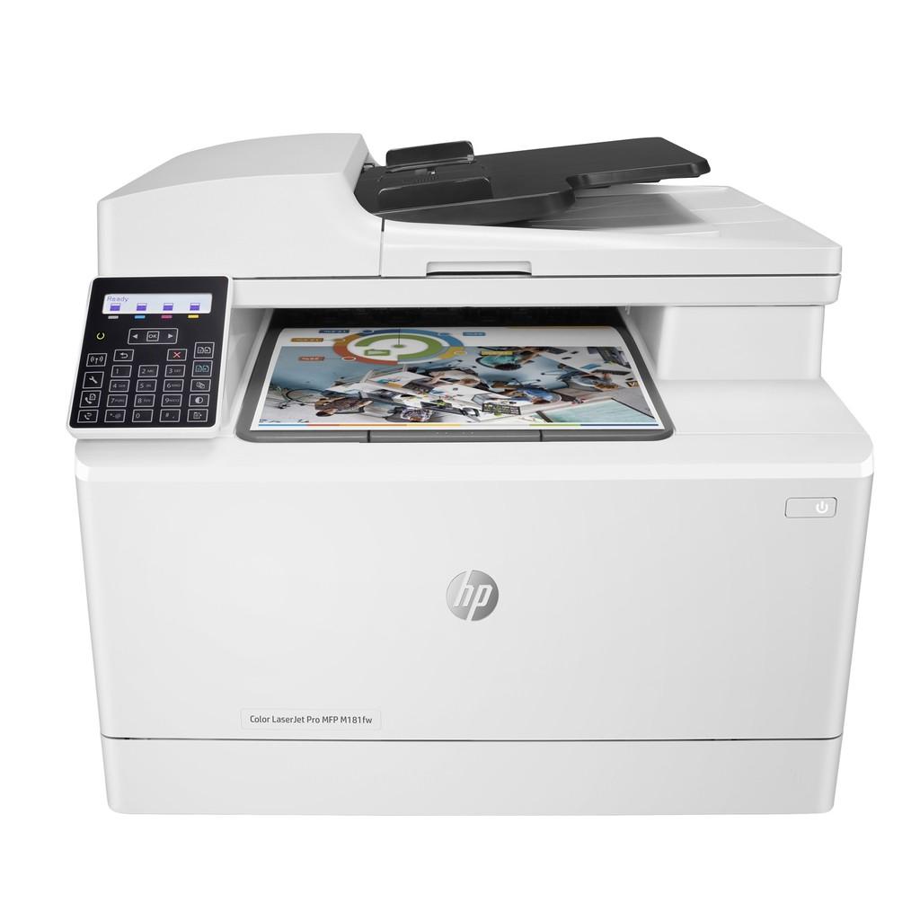HP Color LaserJet Pro MFP M181fw Laser Printer (T6B71A)