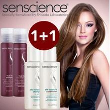[LIMITED] Senscience Silk Moisture & Colour Hue Travel Shampoo + Conditioner 50ml
