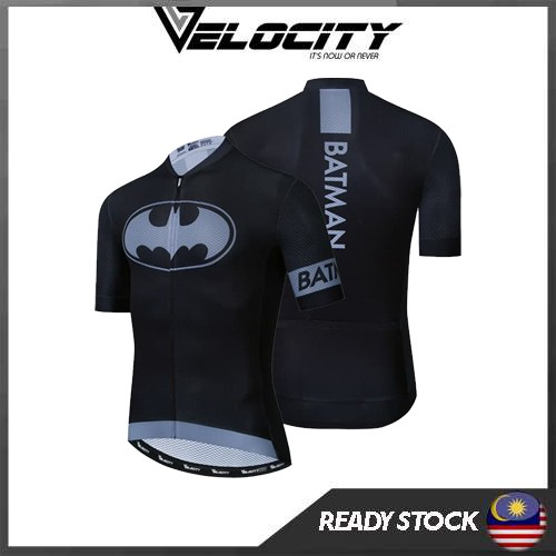 Cycling Jersey Superman Batman With 3/4 Pant Premium Quality With Italian Tape