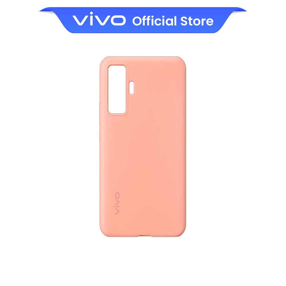 vivo X50 Comfy Case Original Back Casing (Coral Pink)