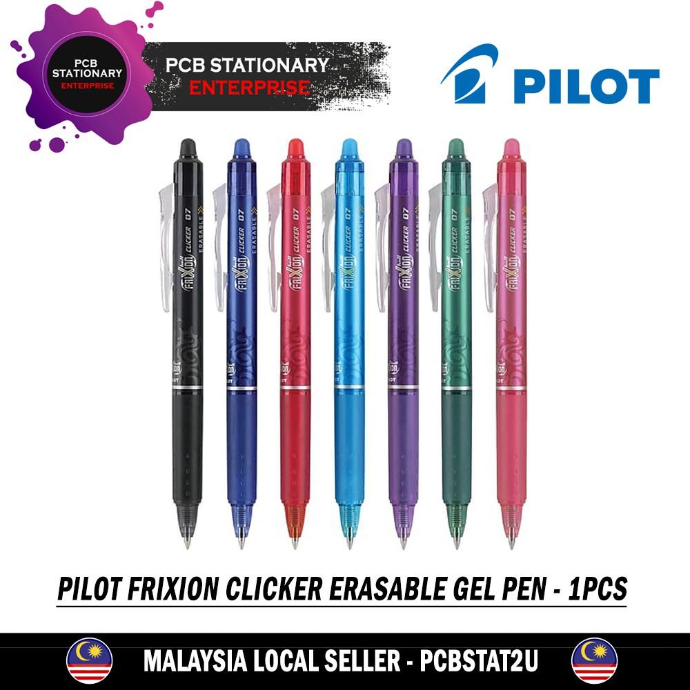 0.7 mm Pilot Frixion Point Clicker Erasable Rollerball Pen 0.5