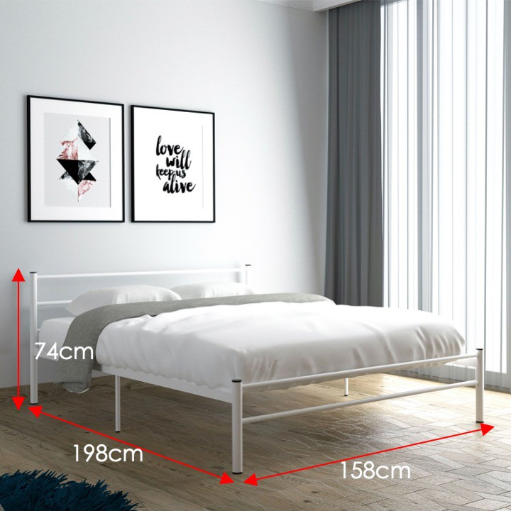 Furniture Direct Lily Queen Size Metal Bed frame/ katil queen