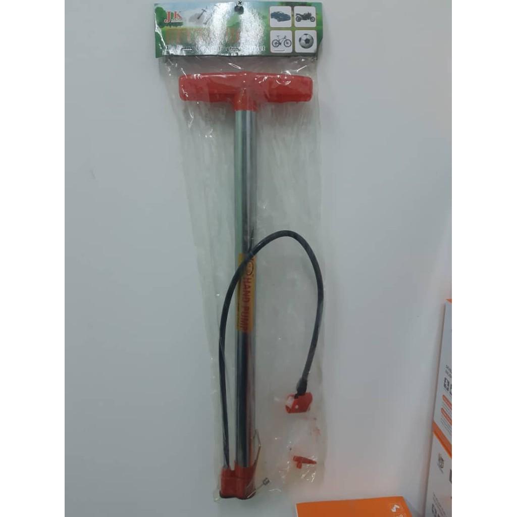 READY STOCK Buster Multifunctional Pump Hand Air Pump With Adaptors Bicycle Air Pump pam tayar basikal pam bola