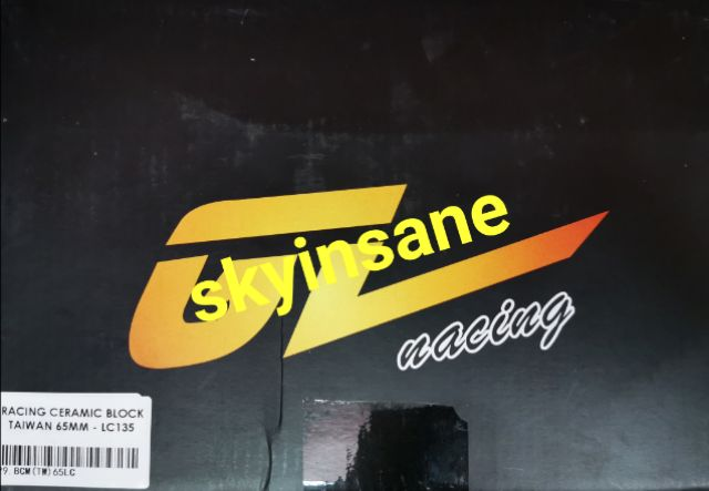 LC135 / Y15ZR (GL RACING) Racing Ceramic Block 65MM (TAIWAN