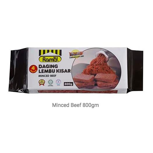 Ramly Minced Beef Chicken Daging Lembu Kisar Ayam Kisar 800g Shopee Malaysia