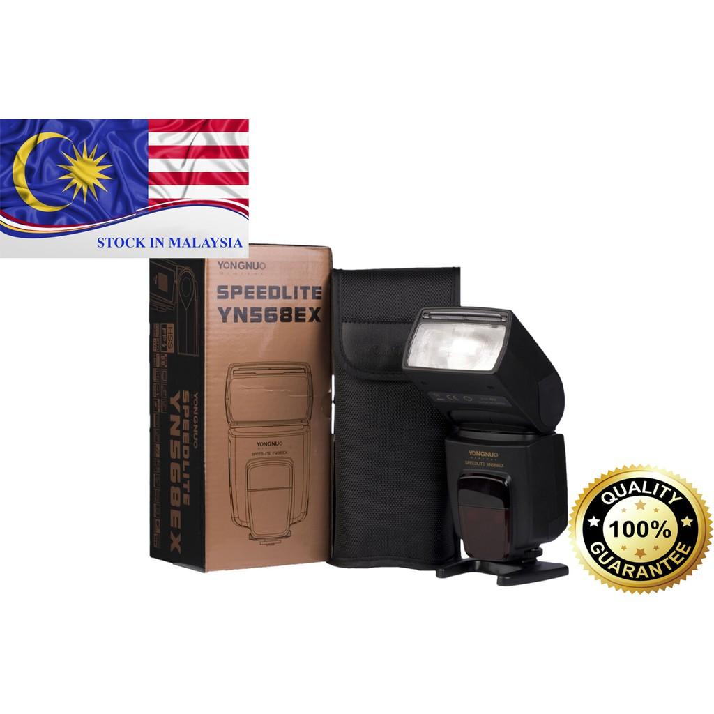 Yongnuo YN568 Speedlite HSS TTL For Nikon DSLR (Ready Stock In Malaysia)