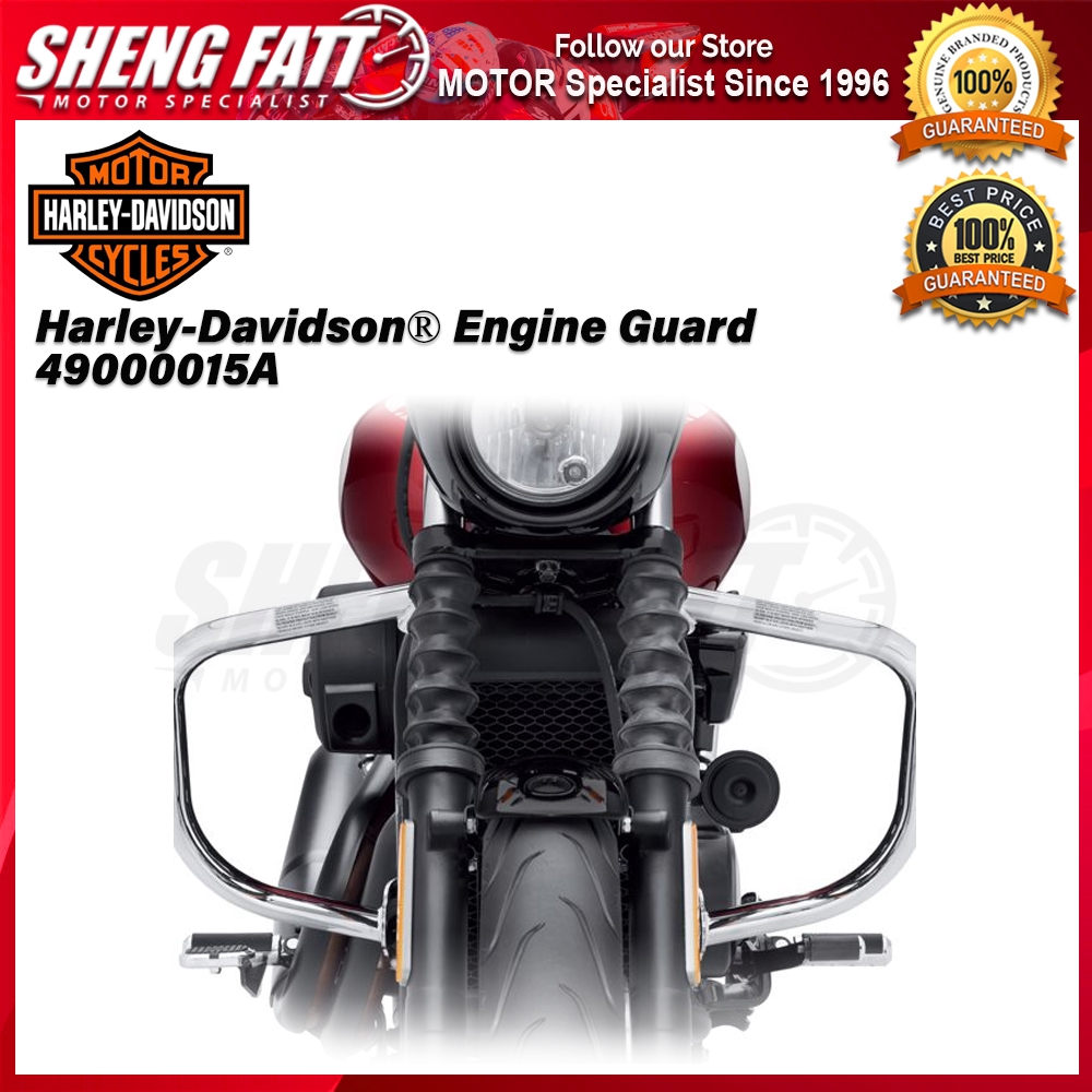 Harley-Davidson® Street™ Family Engine Guard 49000015A Chrome