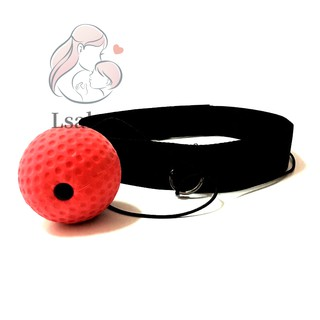React Reflex Ball Head-Mounted Raising Reaction Force&Speed For Boxing Training