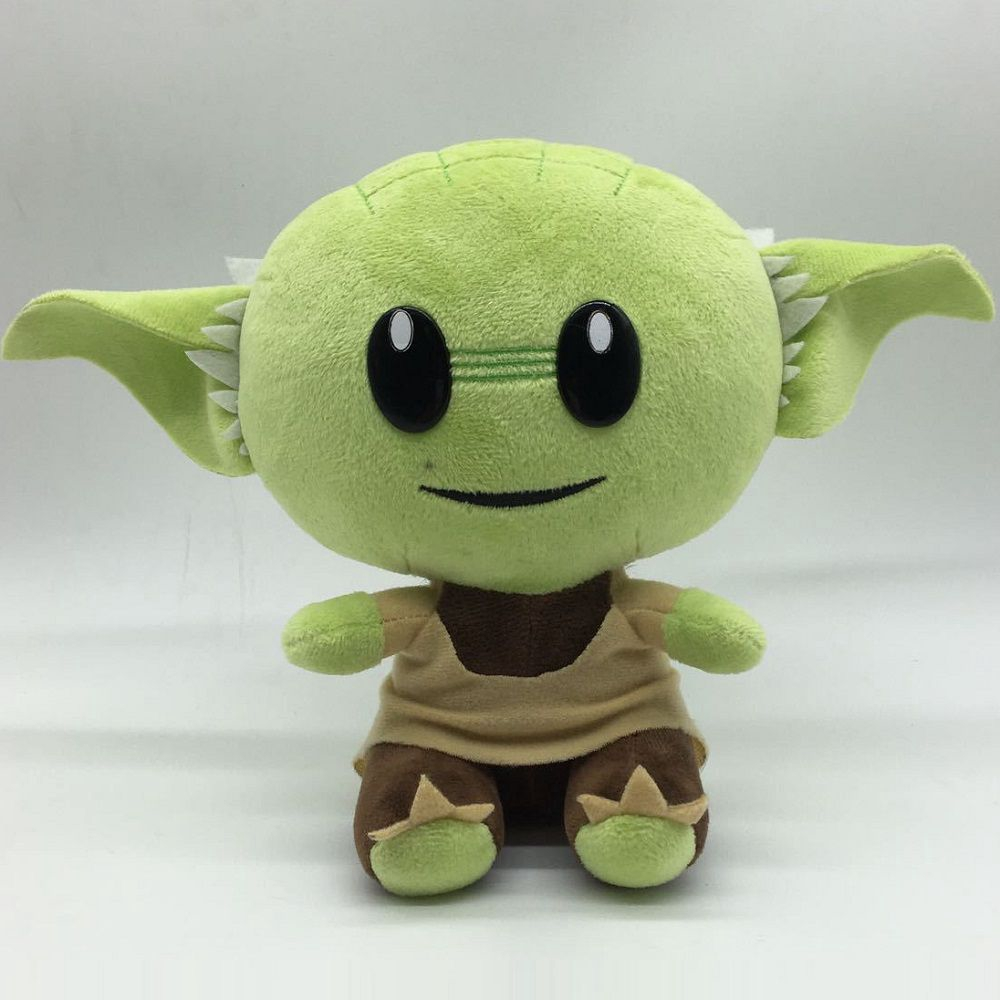 18cm Baby Yoda Plush Doll Soft Stuffed Animal Kids Birthday Gift Fans Toy Shopee Malaysia