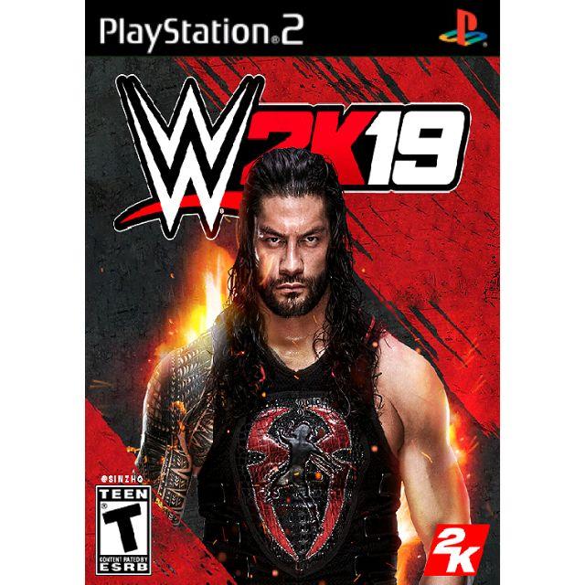 WWE 2K19 PS2