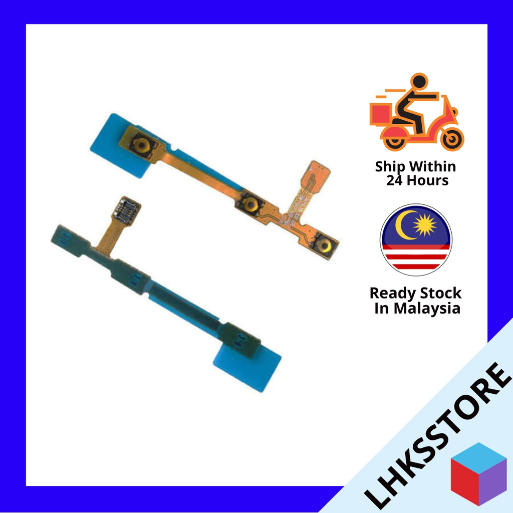 """Power Volume On//Off Button Ribbon Flex Cable for Samsung Tab 4 10.1/"""" T530"""