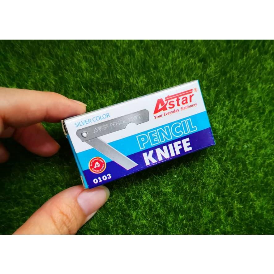 Pencils Knife Economic Astar No.0103 (1 Small Box/12pcs)