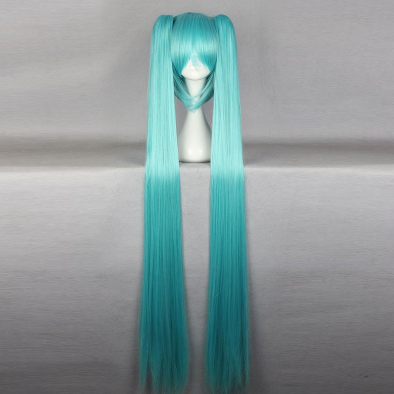 Vocaloid Hatsune Miku Wig Cosplay Anime Halloween Comicon Party Prop Costume