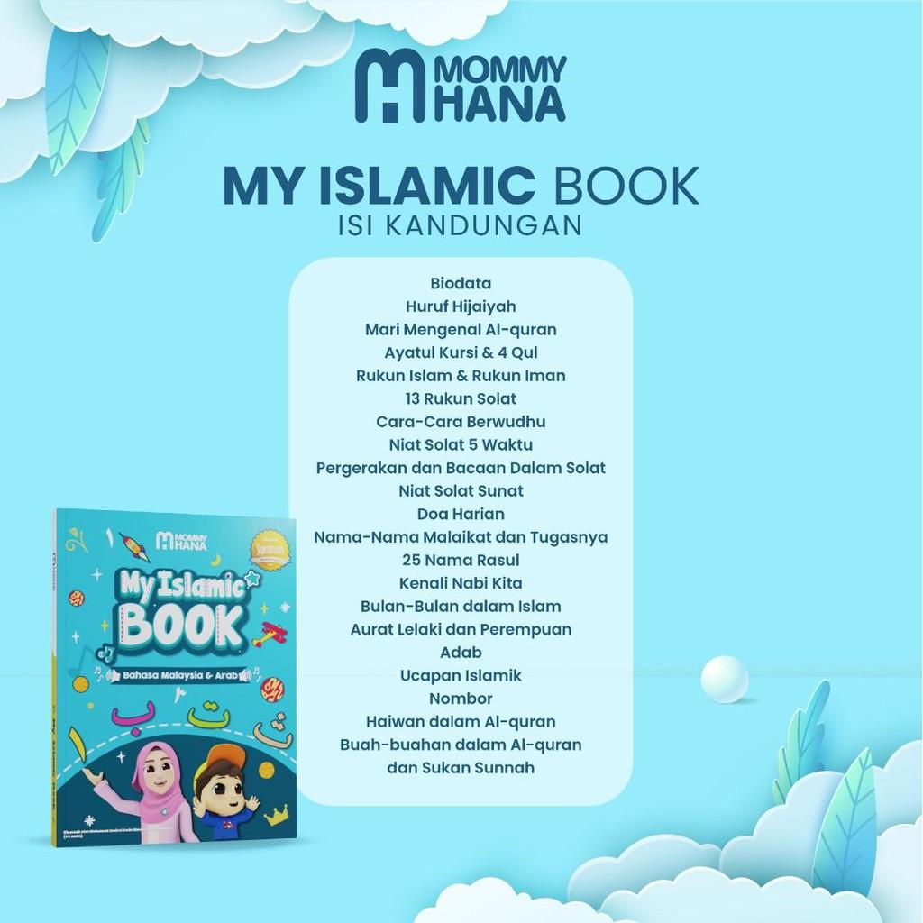 MOMMYHANA MY FIRST BOOK / MY ISLAMIC BOOK/ BUKU KANAK KANAK ...