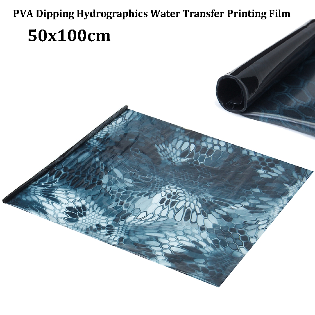 No Pain Bomb  Hydrographics Film Animal Skin ROLLED Hydro Dipping