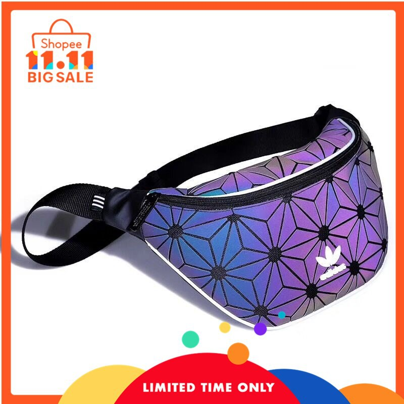 7e77960badd9 100% Original Adidas 3D Mesh Sling Bag x Issey Miyaki colourful Size:17x  23x7cm