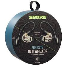 {SE215-CL-TW1-A1461.9} Shure AONIC 215 True Wireless Sound Isolating Earphones (Clear)