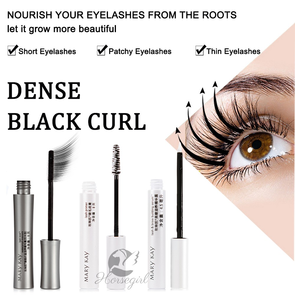 de1576dbaf3 Mary Kay Lash and Brow Building Serum Lash Primer Lash Love Waterproof  Mascara | Shopee Malaysia