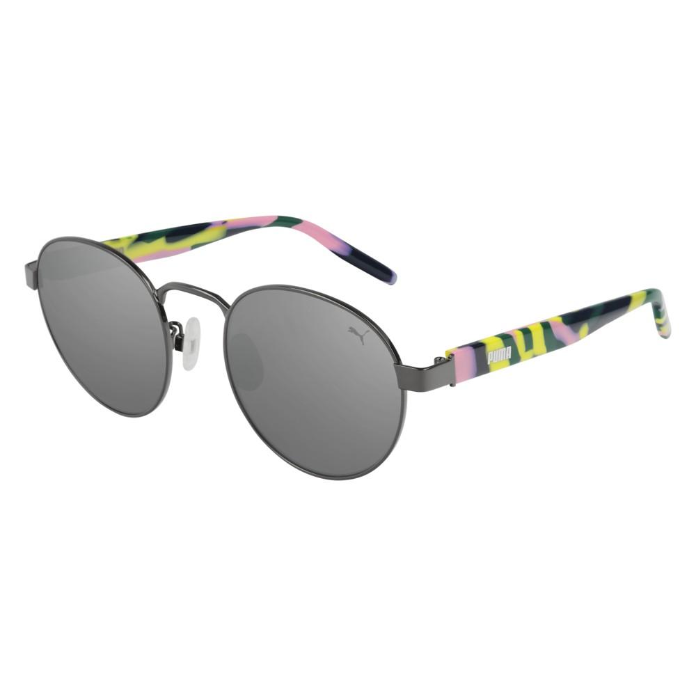 Puma Sunglasses Model PU0224S-004 Ruthenium-Havana-Silver