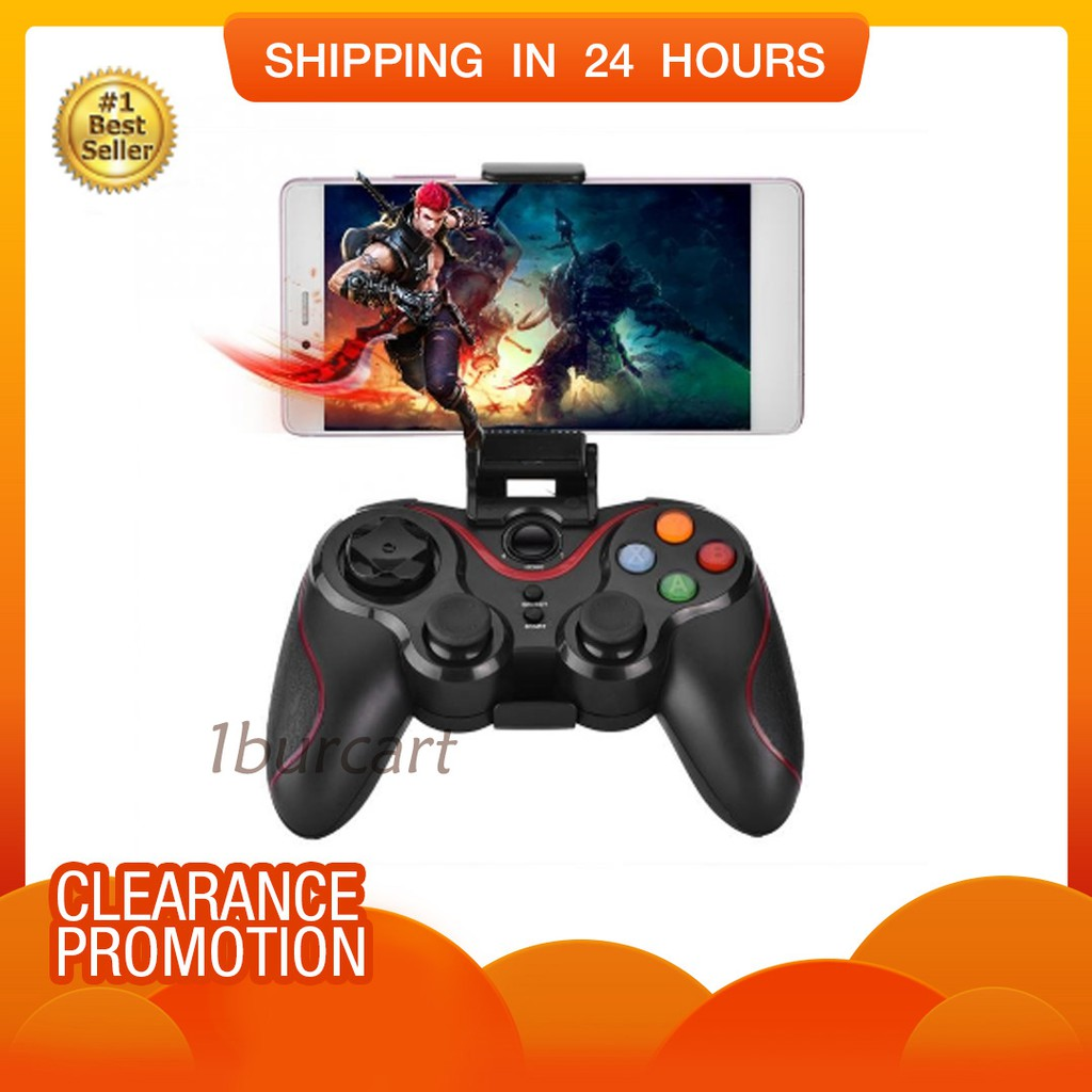 Ipega Pg 9025 Wireless Bluetooth Game Controller Gamepad Joystick Mobile Gaming 30 For Android And Ios 9021 Black Shopee Malaysia