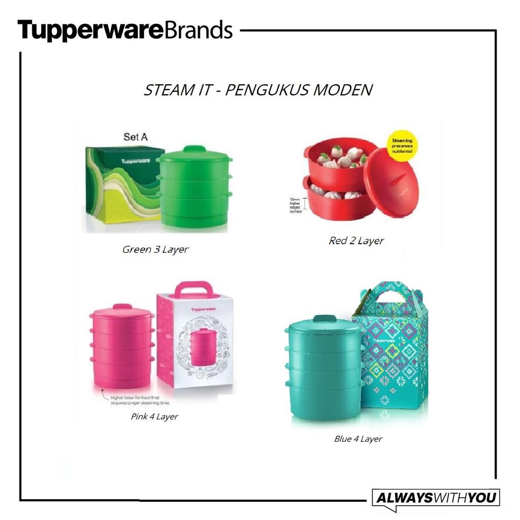 Tupperware Steam It Modern Steamer Pengukus Makanan