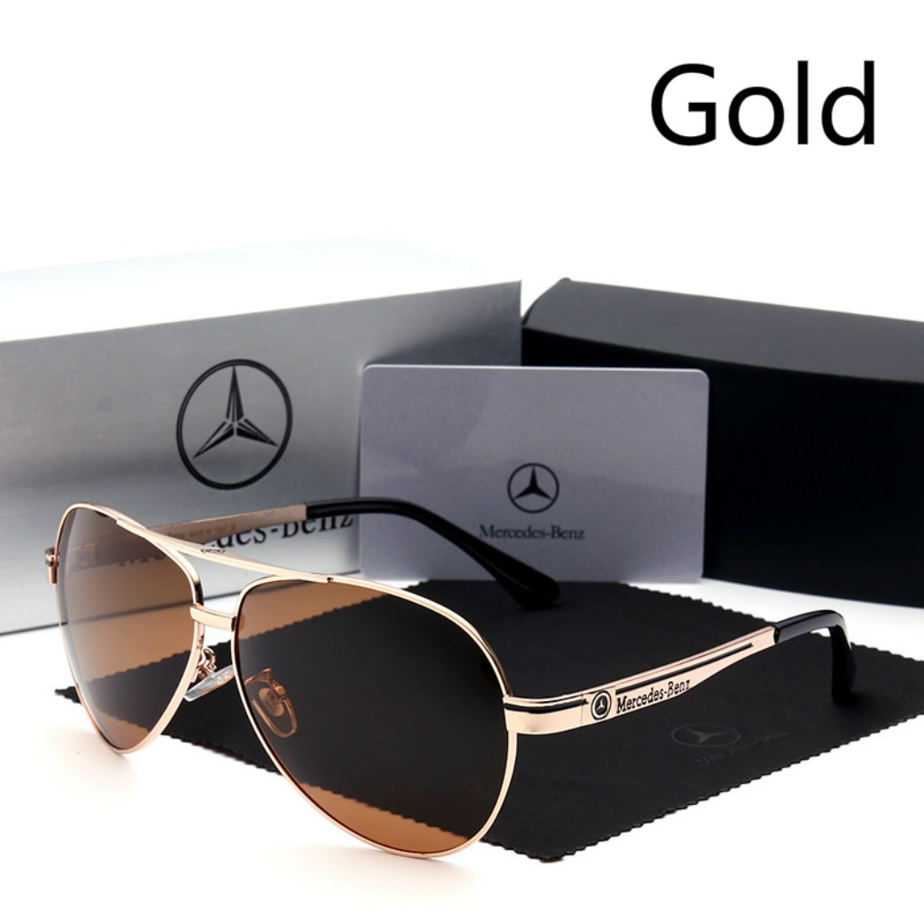 935741ac685 Mercedes Benz RETRO SUNGLASSES Women Fashion Polarizing Driving Glasses