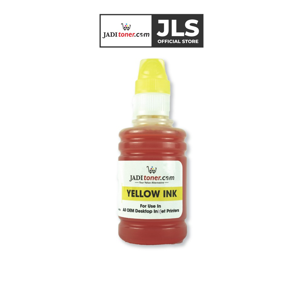 Universal Refill Ink - Yellow for Epson/HP/Canon/Brother Inkjet Printer (100ml)