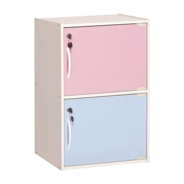 Furniture Direct CODEY single row storage cubes with key lock